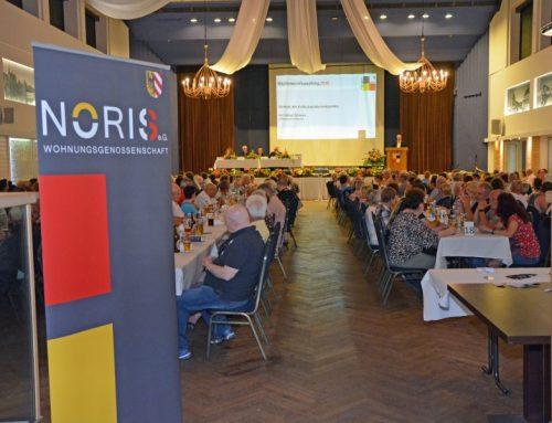 Mitgliederversammlung 2019 im Zeichen des 100-jährigen Jubiläums der WOHNUNGSGENOSSENSCHAFT NORIS eG